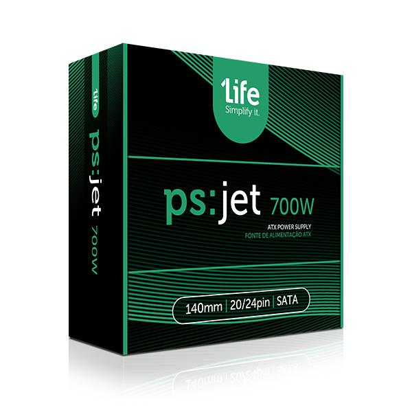 1Life ps:jet 700W 140mm
